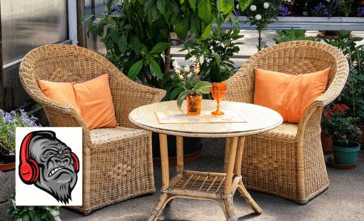 patio furniture removal
